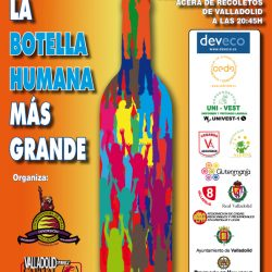 CARTEL RECORD GUINNESS CON LOGO VALLADOLID LA CAPITAL DEL VINO